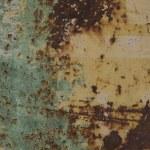 piastra di metallo arrugginito — Foto Stock