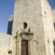 Medieval fortified church — Stock Photo