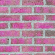 Pink brick wall — Stock Photo #8841426