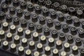 Old typewriter — Photo