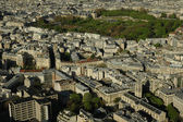 Aerial view of a city — Stock Photo