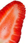 Strawberries isolated on white background — Stock Photo