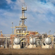 Petrochemical industrial plant — Stockfoto #8509433
