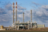 Petrochemical industrial plant — Stock Photo