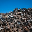 Recycling of metals — Stock Photo