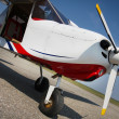 Small airplane — Stock Photo #9700543