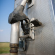 Old fuel pump - Foto Stock