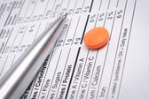 Medical Form — Stock Photo
