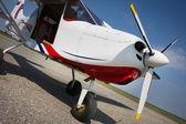 Küçük uçak — Stok fotoğraf