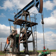 Stock Photo: Oil pump jack