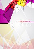 Abstracte vector achtergrond — Stockvector