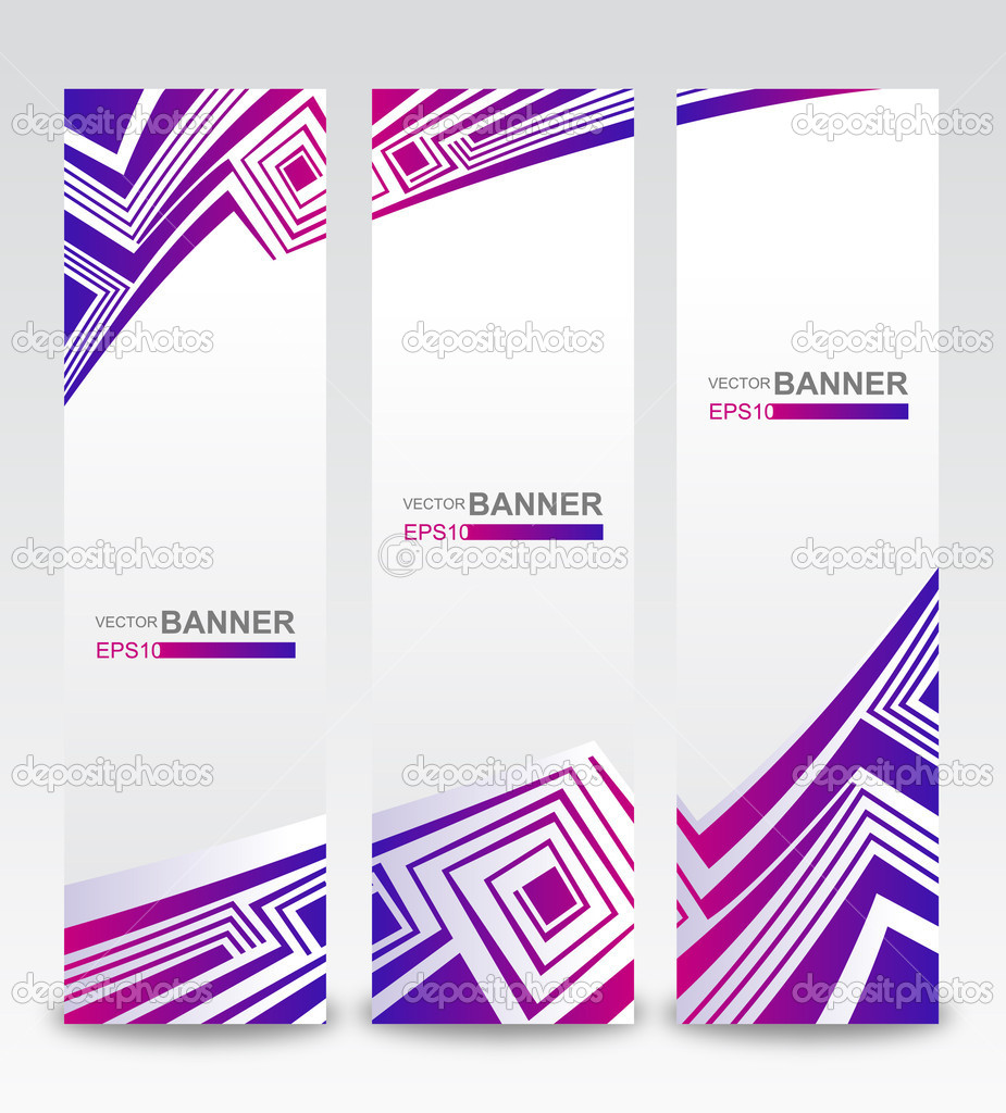 Set of abstract banners.  — Stock Vector #10642654