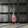 Britain guitar — Stock Photo #8465286