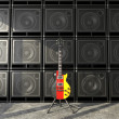 Stock Photo: Germguitar