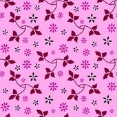 Sömlös blommönster 09 — Stockvektor
