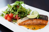 Smoked trout — Stockfoto