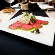 Beef carpaccio - Stock Photo