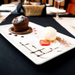 Chocolate fondant — Stockfoto #8538726