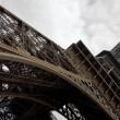 Eiffel tower at wide angle. — Stock Photo #9597407
