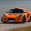 TALLINN, ESTONIA - JUNE 16, 2008: An orange Lotus Exige S front - Stock Photo
