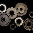 Set of gears — Stock Photo