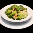 Stock Photo: Caesar salad with shrimps