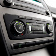 Car climate control - Stock Photo