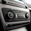 Stock Photo: Car climate control