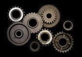 Set of gears — Stock Photo