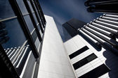 Detail of office building — Stock Photo