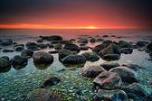 Mysterious sunset — Stock Photo