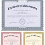 Multicolored certificates — Stock Vector #8852051