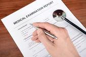 Medisch rapport — Stockfoto