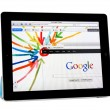 Stock Photo: Apple Ipad2 with Google+ Project