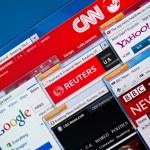 Hot News Web Sites — Stock Photo