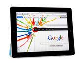 Apple Ipad2 with Google+ Project — Stock Photo