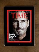 Steve Jobs On Cover — Stock Photo