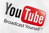 Youtube logo — Stock Photo