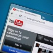 Youtube New Design — Stock Photo