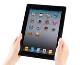 IPad2 Homepage — Stock Photo
