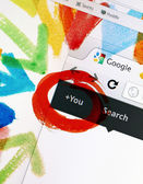 Google+ Homepage — Stock Photo