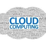 Cloud Computing Wordcloud — Stock Photo