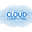 Cloud Computing Wordcloud — Stock Photo