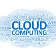 Stock Photo: Cloud Computing Wordcloud
