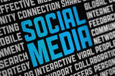 Social Media Poster — Stock Photo