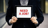 Need A Job? — Stock Photo