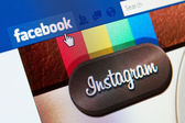 Facebook Buys Instagram — Stock Photo