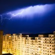 Urban lightning — Stock Photo