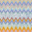 Zig zag decorative abstract background — Stock Photo