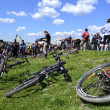 Cyclists relax biking outdoors — Stockfoto #10504146